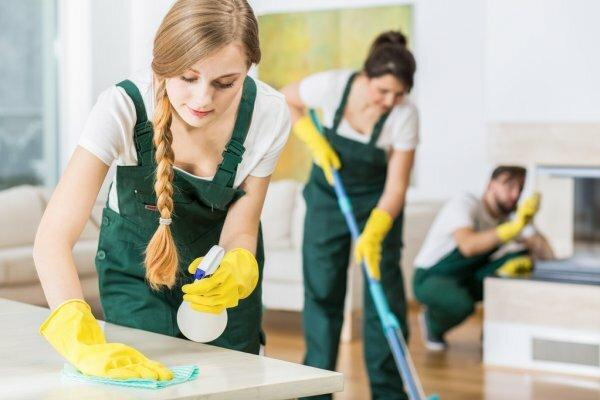 Cleaning services business image
