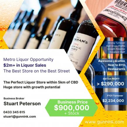The Best Liquor Stores in WA Hits the Market image