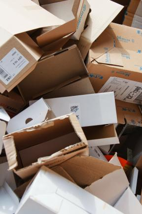 Cardboard and Paper Recycling Business with Wholesale and Retail Rags image