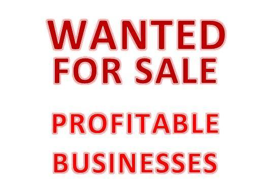 WANTED FOR SALE - PROFITABLE BUSINESSES image