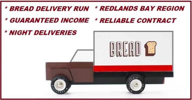 BREAD DELIVERY RUN -  EASY JOB & GUARANTEED INCOME $1,800 PER WEEK WITH CONTRACT image