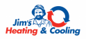 Logo: Jim's Heating and Cooling Victoria