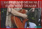 GUITAR AND MUSICAL EQUIPMENT DEALERBusiness For Sale