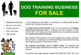 Established Dog Training BusinessBusiness For Sale