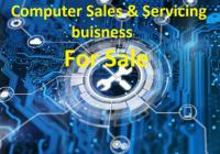 Well established and busy computer sales and service business...