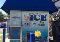 21080 Free-Standing Ice and Water Kiosk -...Business For Sale
