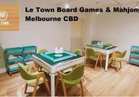 Le Town Board Games & Mahjong – Prime Melbourne C...Business For Sale