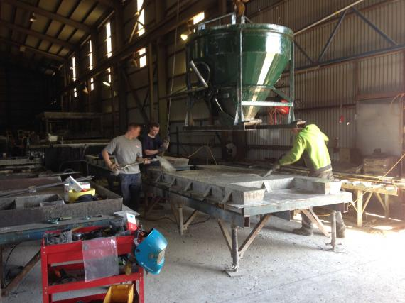 Precast Concrete Manufacturer with Ongoing Contracts For