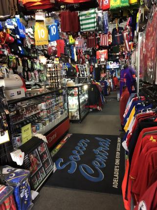 Soccer Clothing Retail Store - Adelaide - ROI 77% For Sale