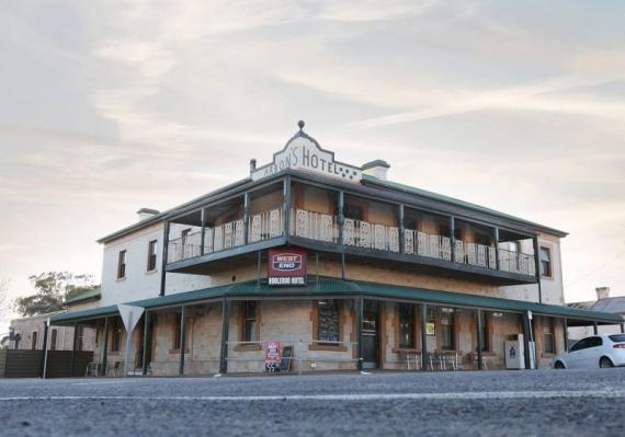 BOOLEROO HOTEL BUSINESS NOW FOR SALE WITH LONG TERM LEASE