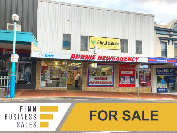 ONLY NEWSAGENT & LOTTO IN BURNIE CBD - ideal for working couple image 1